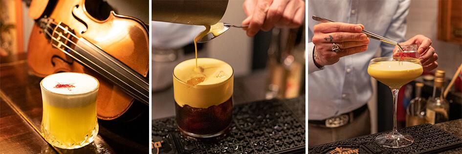 Matteo Berardi cocktail l'oro di navelli
